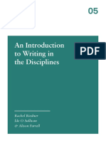 Writing in Discipline