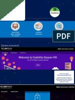 CodeVita Platform Screenshots