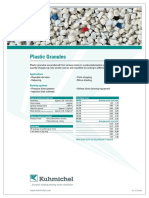 Datasheet Plastic Granules
