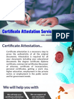 Fast and Reliable Certificate Attestation in Oman