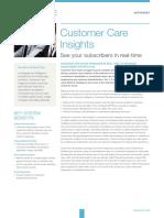 REPORTING Sandvine Ds Customer Care Insights