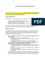 Introduction to Accounting for Construction Contracts