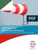 ILED Illuminated Windsock Specification Sheet