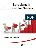 Roger a McCain - Value Solutions in Cooperative Games-World Scientific Publishing Company (2013)