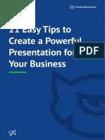 Easy Tips tips presentation