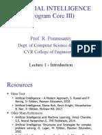 CVR AI Lecture - Introduction 01