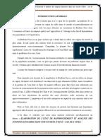« Elaboration de l'état de rapprochement et analyse des suspens bancaires dans une société d'Etat