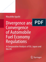 Divergence and Convergence of Automobile Fuel Economy Regulations