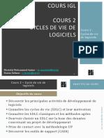 IGL - Cours 2 - Cycles de Vie