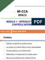 Module 1 - Contrôle Interne