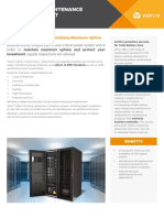 Ups Battery Maintenance and Replacement Data Sheet English
