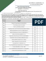 CCA BUS STOP - 2019-2020