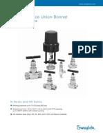 Swagelok needle valves
