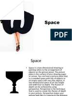 Space as an element in Fashion