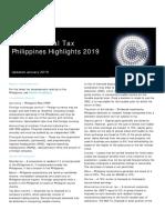Dttl Tax Philippineshighlights 2019