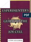 Alex Schiffer - Experimenters Guide to the Joe Cell (1999)