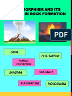 5. Metamorphism and Its Effects in Rock Formation