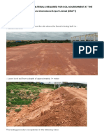 Example_Soil Analysis, Soil Nourishment Material Required_Bangalore Airport