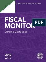 IMF - Corruption Apr 2019