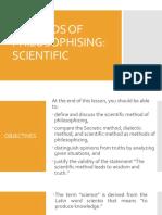 Day7 MethodsofPhilosophizing Scientific