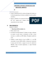 SEPARACION DE CATIONES