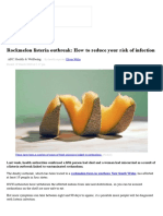 Rockmelon Listeria Outbreak, How to Reduce Your Risk of Infection