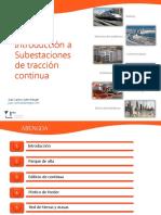 04.2 Presentación Introducción Subestaciones de Traccion en Continua