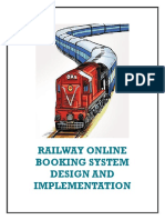 railway online booking