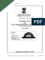 Maintenance of Electropneumatic Contactor-Eng