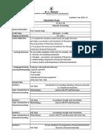 Session Plan Format 2018_FA_Sasmita Singh