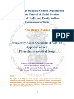 New Drugs FAQs