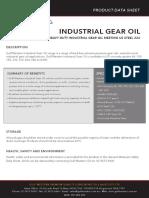 Industrial Gear Oil 30098 1