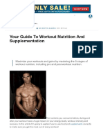 Your Guide to Workout Nutrition and Supplementation _ Muscle & Strength