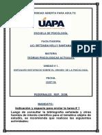 Primera Unidad, Terioas Psicologicas Actuales. (1)