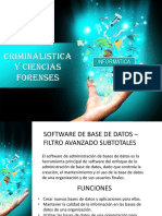Software de Base de Datos