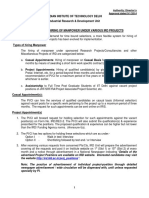 Ird Recruitment Policy 2014
