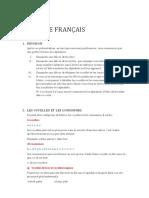 Cours Français 2-1