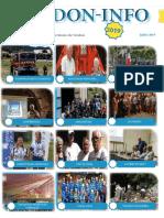 Lettre d'information de Juillet de l'association Verdon-info