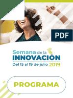 Programa Semana de La Innovacion
