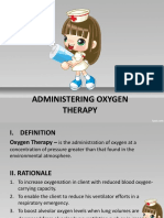 Administering o2 Therapy
