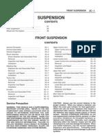 Isuzu Front Suspension