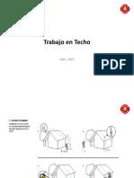 Trabajo en Techo Julio 2019