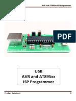 8051 & AVR ISP Programmer