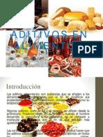 Aditivos en Alimentos