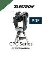 Celestron CPC Series Telescope Instruction Manual