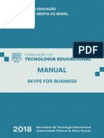 Manual WEB Conferência Skype