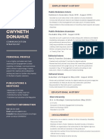 gwyneth donahue final resume