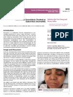 Cutaneous Sarcoidosis Treated as Seborrheic Dermatitis