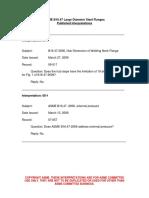 ASME B16.47-2009 Interpretations