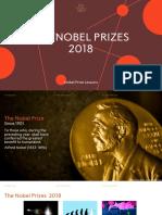 All Nobelprizes 2018
